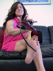 Bella After Clubbing danced-in Stappy Heels